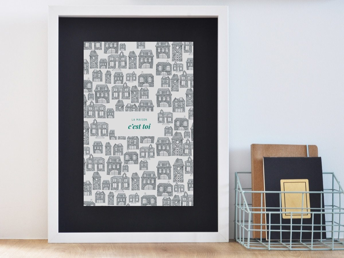 Affiche Les manies de Marion-Décoration murale-poster-encadrée maison