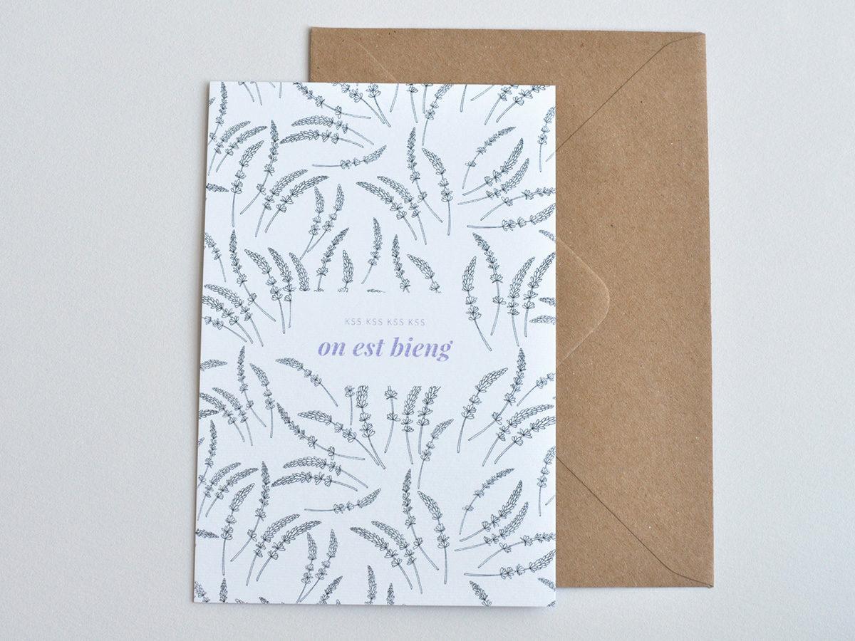 carte postale - Les manies de Marion - modèle kss kss