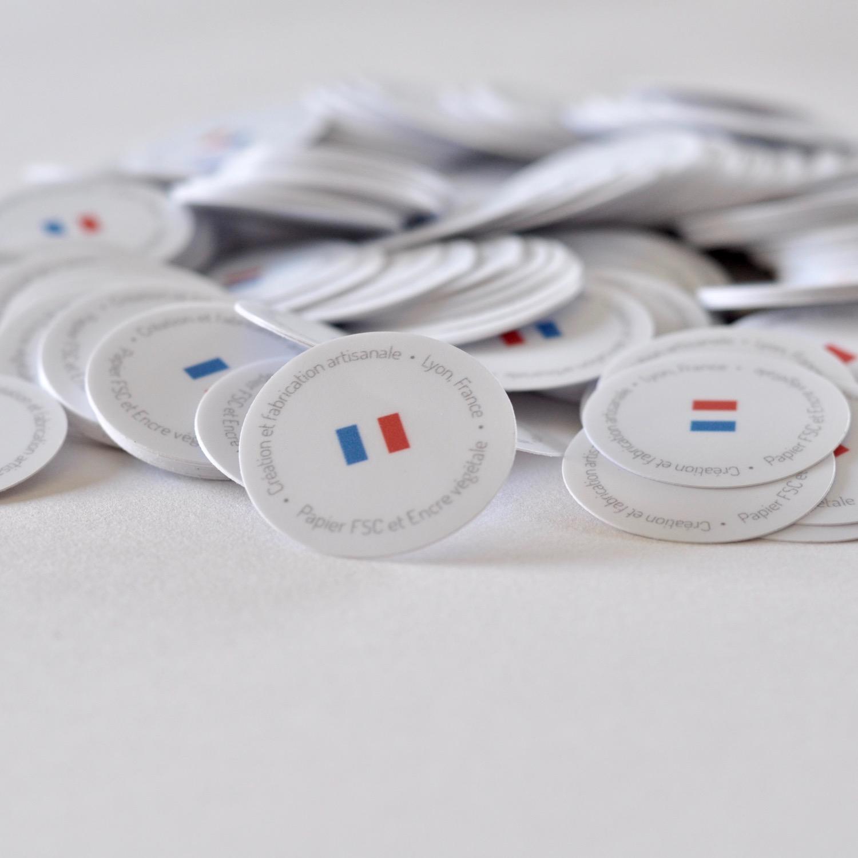 Stickers Papeterie française haut de gamme Les manies de Marion